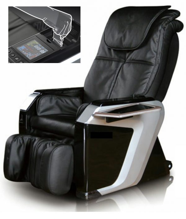 masažna fotelja na kovanice